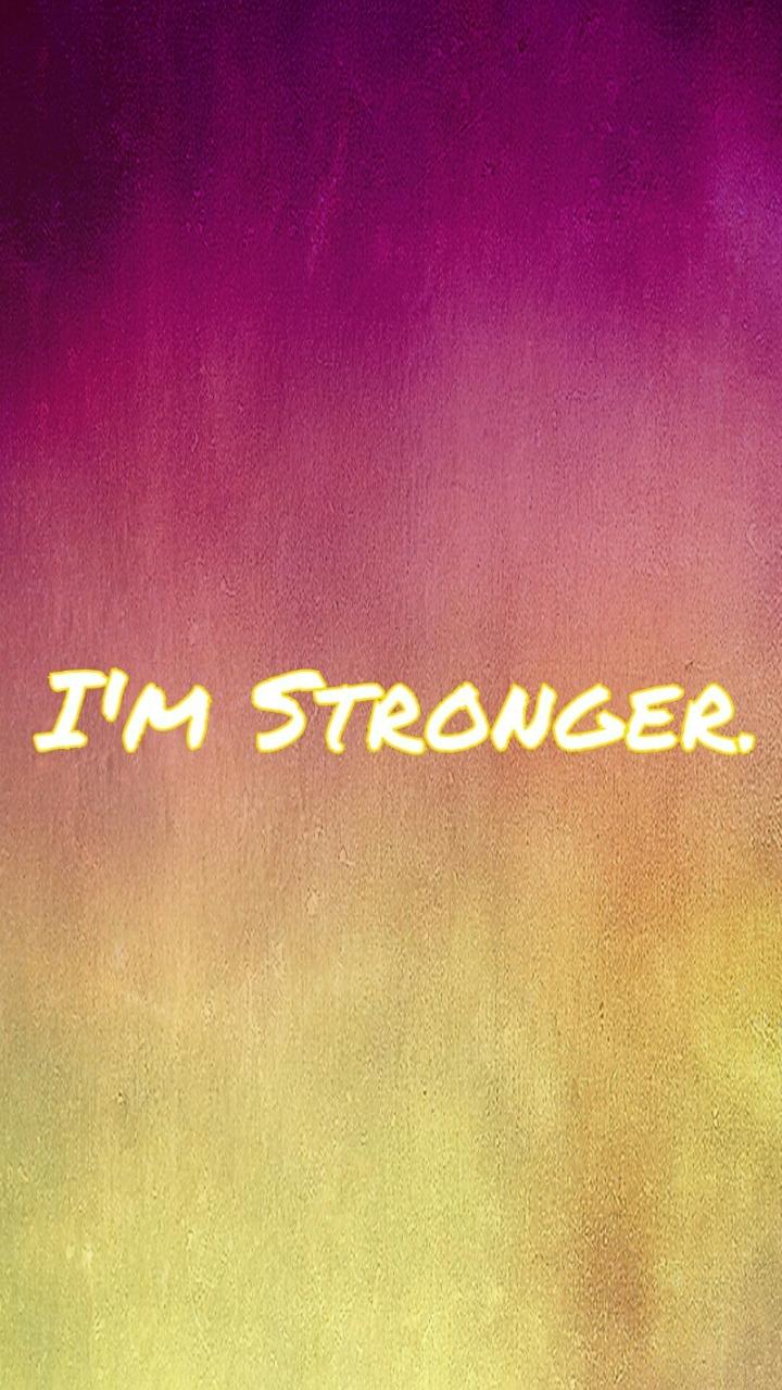 I'm Stronger